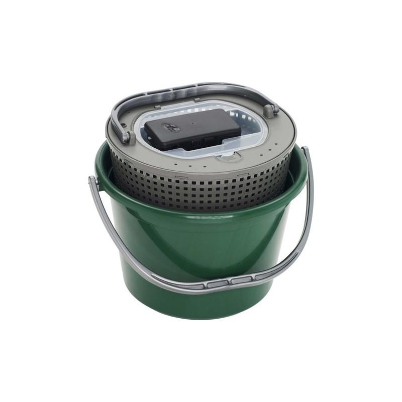 Darts Bait Bucket 18L + Oxygen Pump
