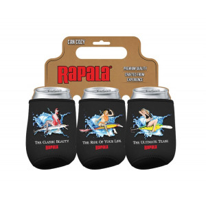 Rapala Can Cooler 3-pack Neoprene