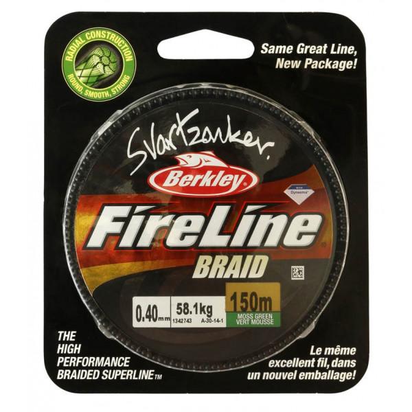 Berkley FireLine Svartzonker Braid 150m