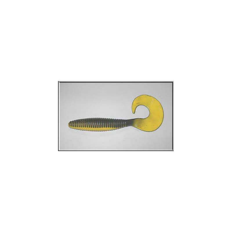 Action Plastics Curly Magnum 20cm blackyellow