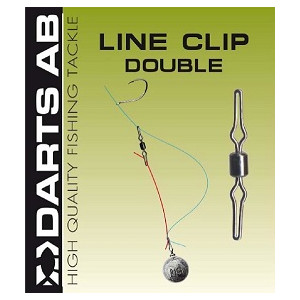 Darts Line Clip Double 9-pack