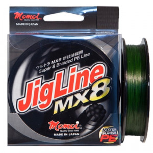 Momoi Jig Line MX8 Grön 130m