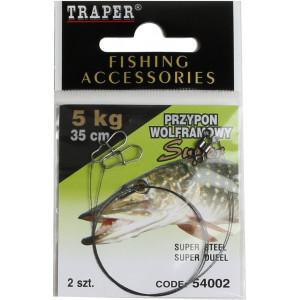 Traper Leader For Jigs 35cm