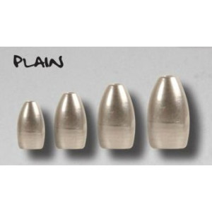 BFT Tungsten Bullet Weight Plain 14gr 2st