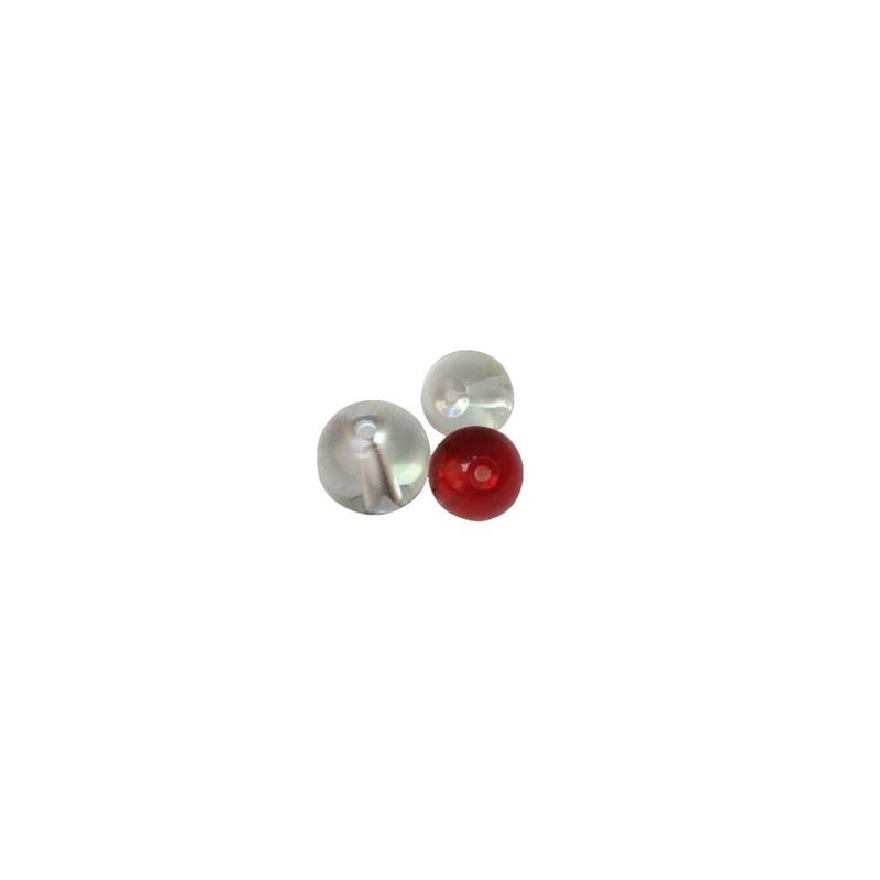 Fox Rage Glass Beads
