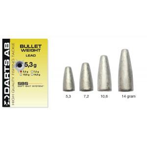 Darts Bullet Sinker Lead