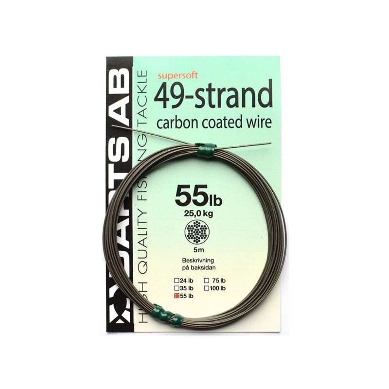 Darts Carbon Coated Wire 49 Strand