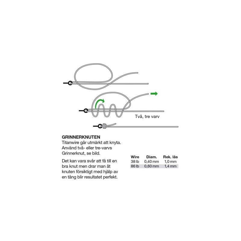 Darts Titanium 1-Strand Wire