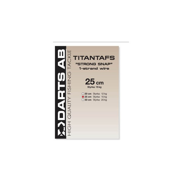 Darts Titantafs Strong Snap 1-Strand Wire