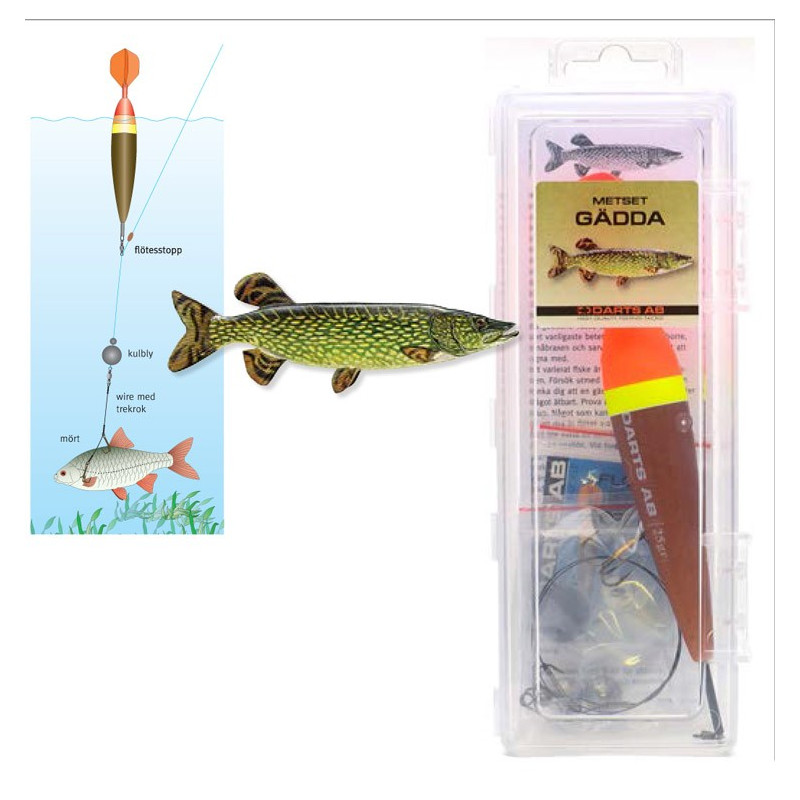 Darts Float Rig Pike