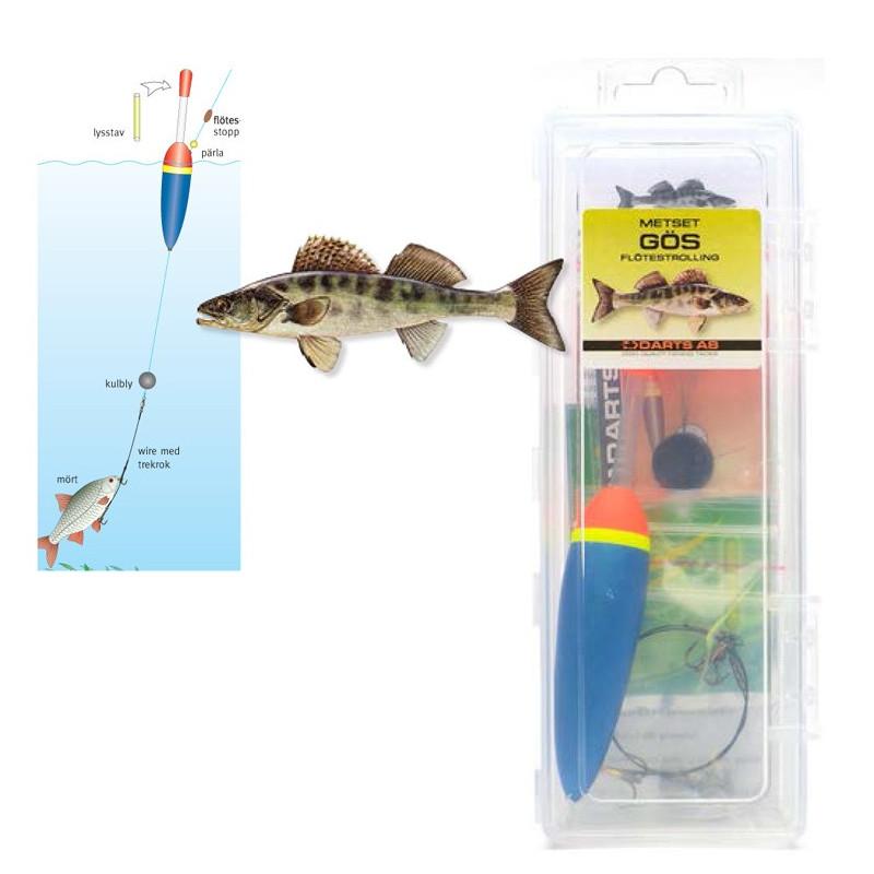 Darts Float Rig Walleye Floattrolling