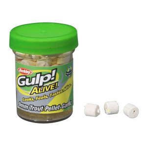 Berkley Gulp! Alive Trout Pellet White / Garlic