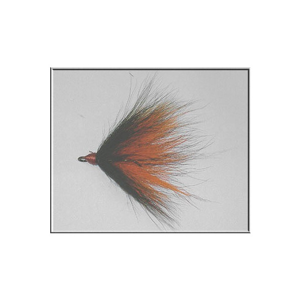 Bucktailkrok Stl 1/0 Black / Orange