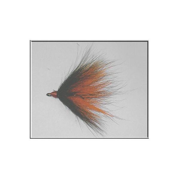 Bucktailkrok Stl 1/0 Black / Orange